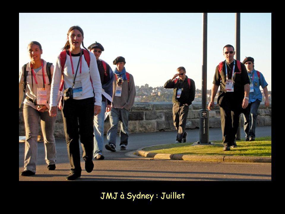 JMJ à Sydney : Juillet