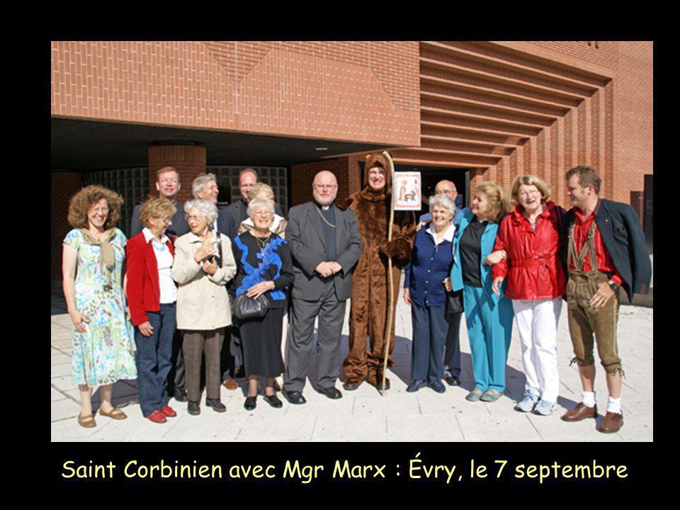 Saint Corbinien avec Mgr Marx : Évry, le 7 septembre