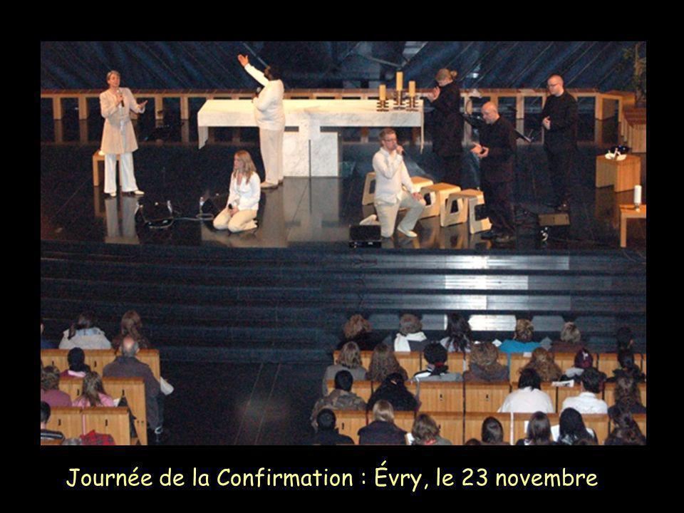 Journée de la Confirmation : Évry, le 23 novembre