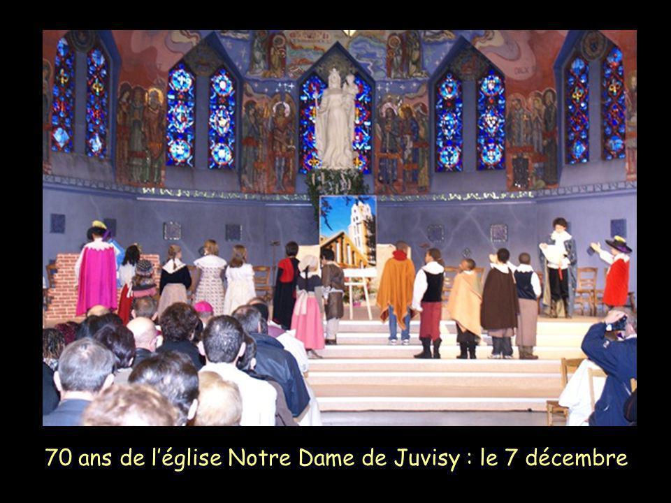 70 ans de l'église Notre Dame de Juvisy : le 7 décembre