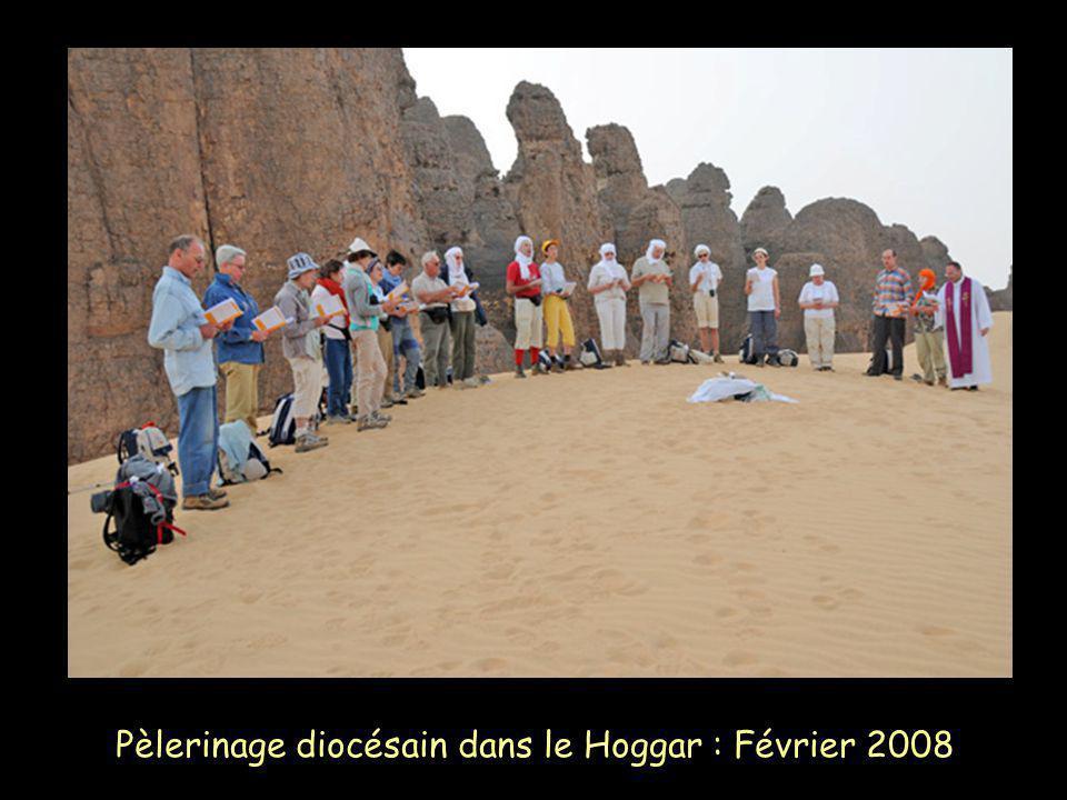 Pèlerinage diocésain dans le Hoggar : Février 2008
