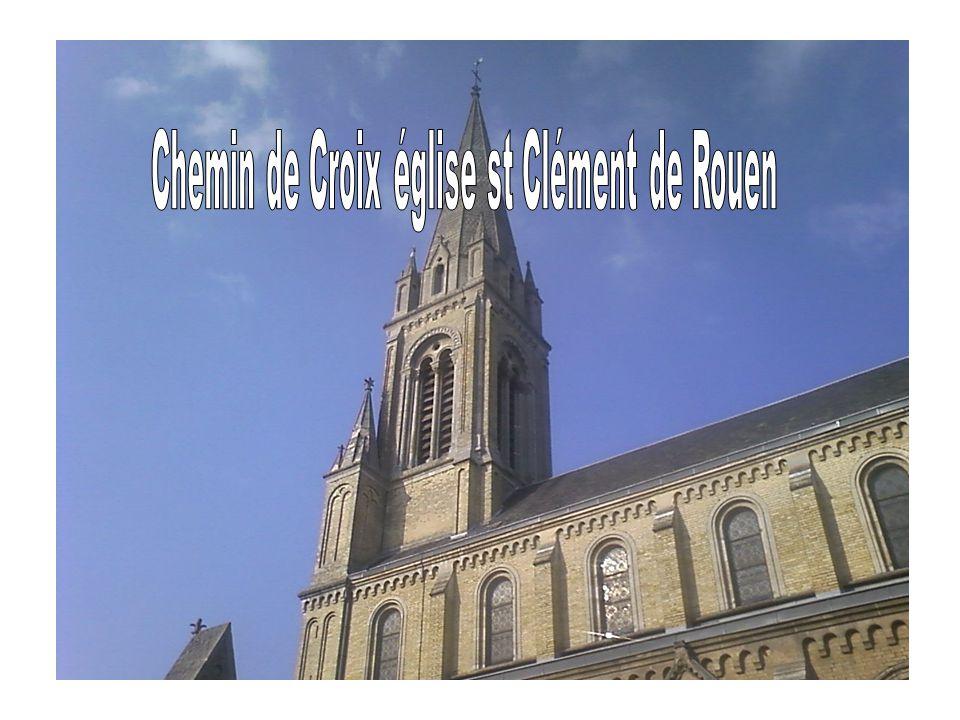 Chemin de Croix église st Clément de Rouen