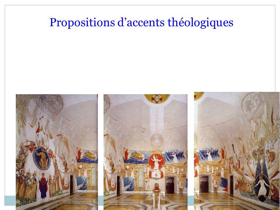 Propositions d'accents théologiques