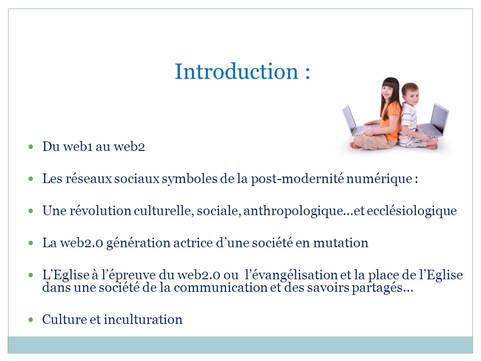 Introduction : Du web1 au web2