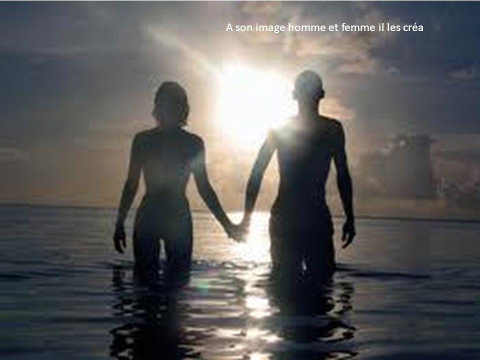 A son image homme et femme il les créa