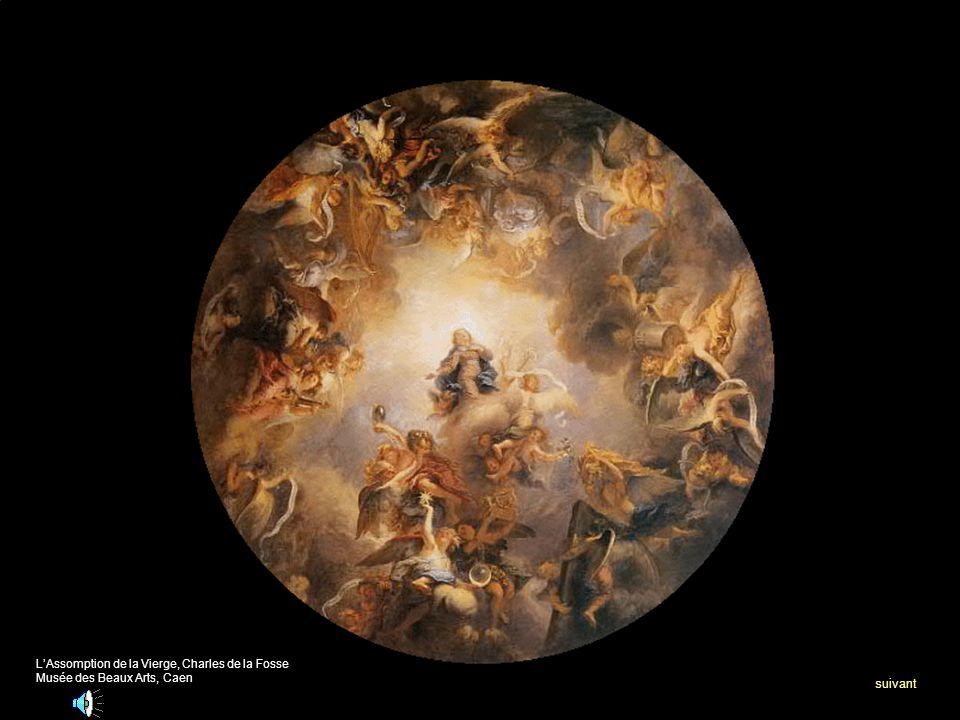 suivant L'Assomption de la Vierge, Charles de la Fosse
