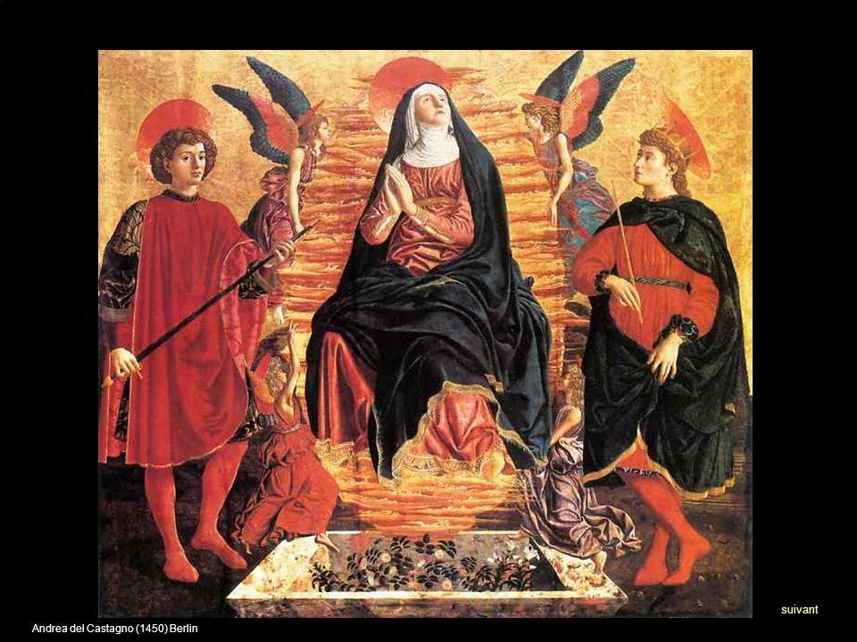 suivant Andrea del Castagno (1450) Berlin