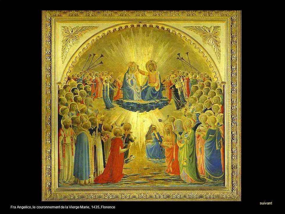 suivant Fra Angelico, le couronnement de la Vierge Marie, 1435, Florence