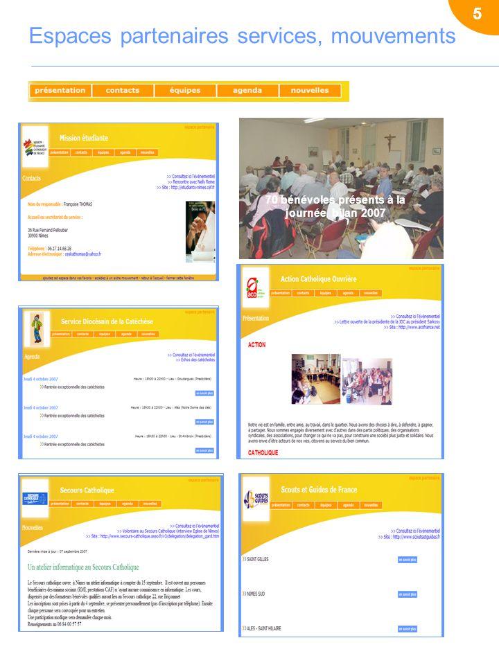 70 bénévoles présents à la journée bilan 2007