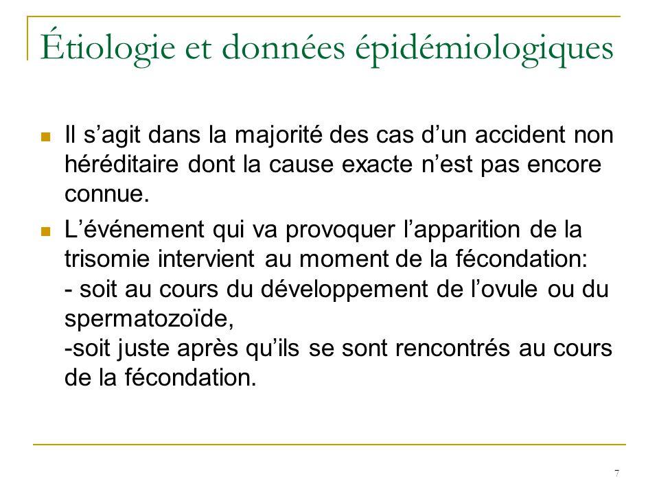 Étiologie et données épidémiologiques