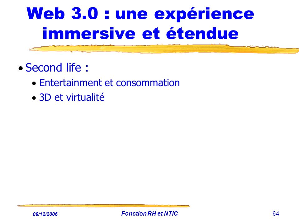 Web 3.0 : une expérience immersive et étendue