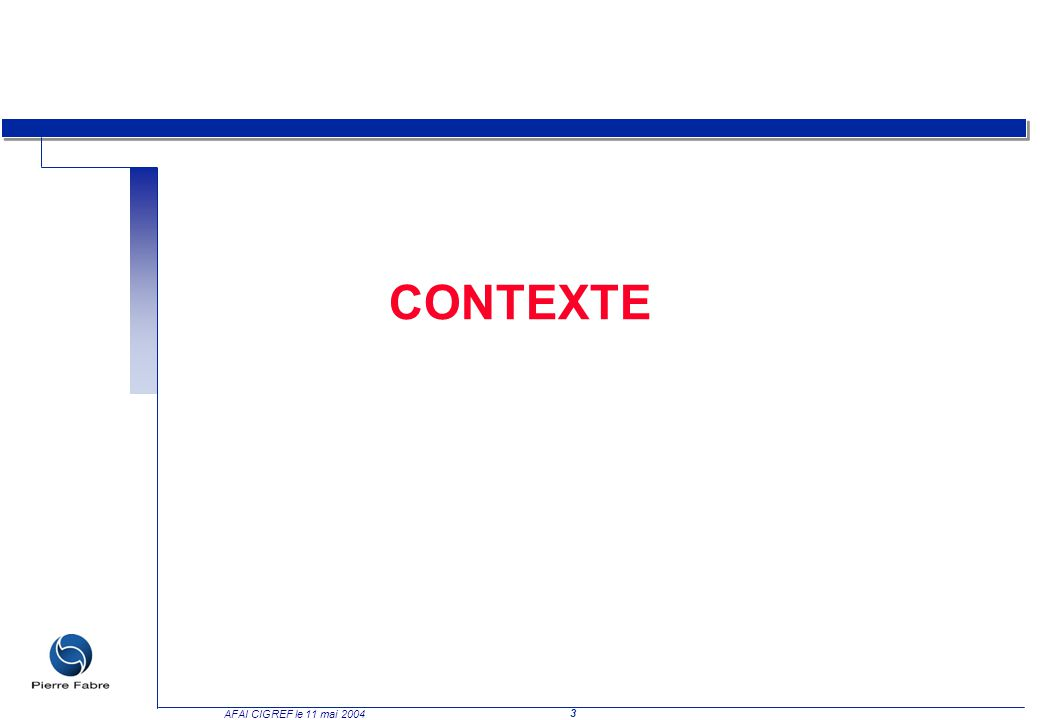 CONTEXTE