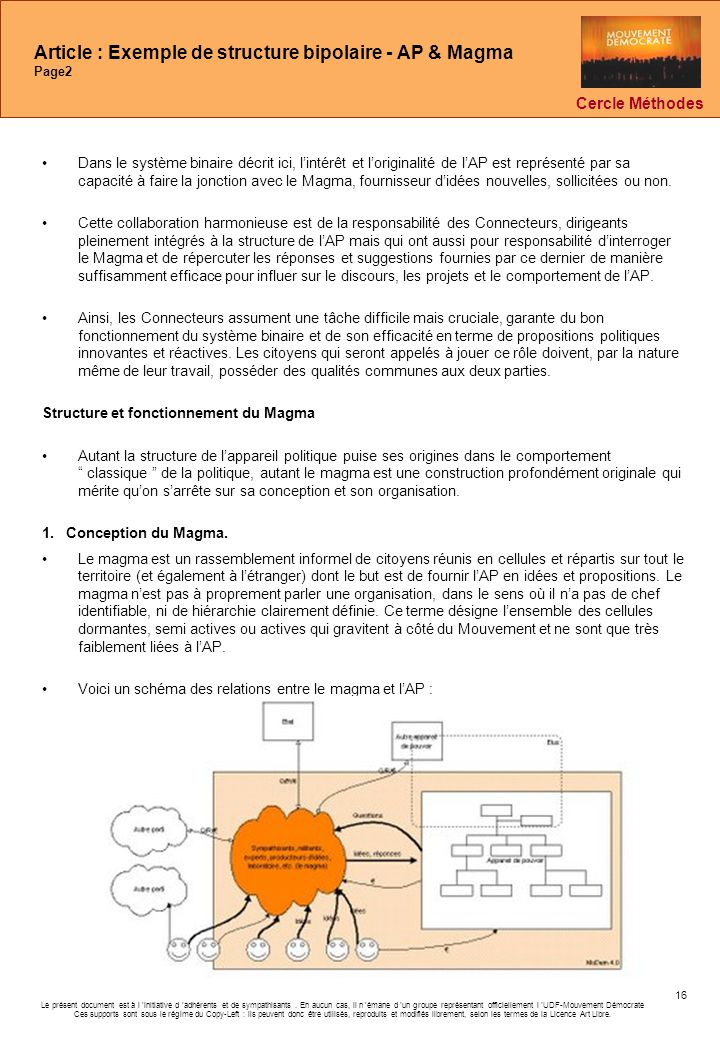 Article : Exemple de structure bipolaire - AP & Magma Page2
