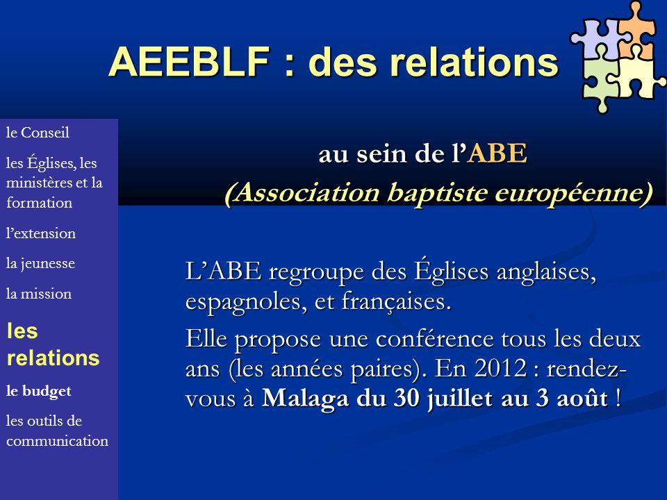 AEEBLF : des relations au sein de l'ABE