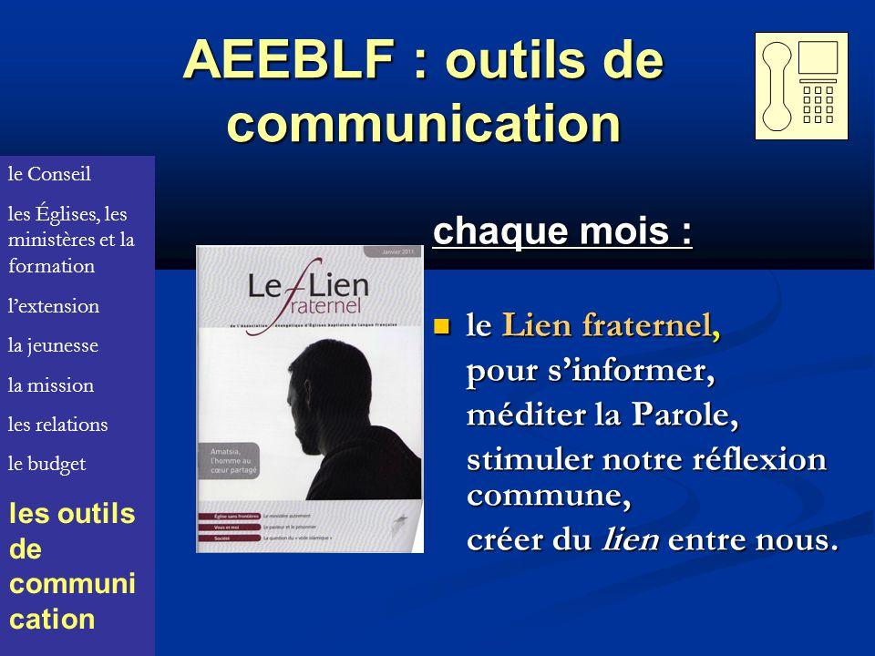 AEEBLF : outils de communication