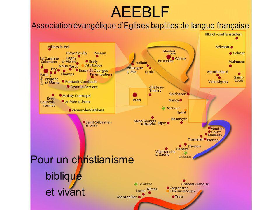 AEEBLF Association évangélique d'Eglises baptites de langue française