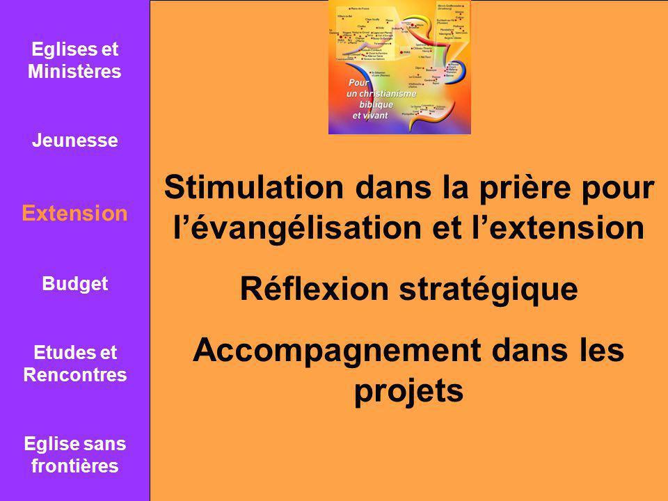 Stimulation dans la prière pour l'évangélisation et l'extension