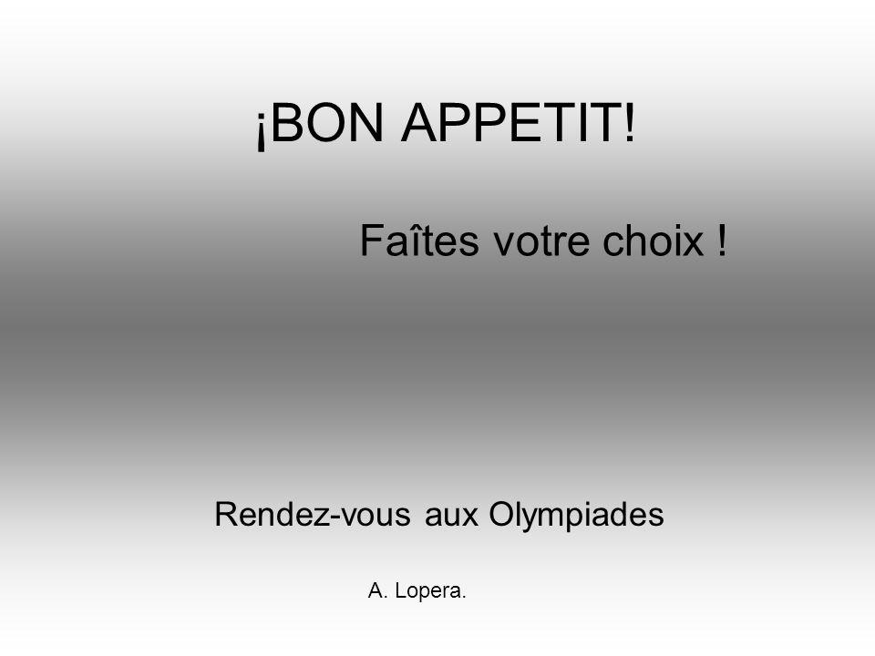 Rendez-vous aux Olympiades
