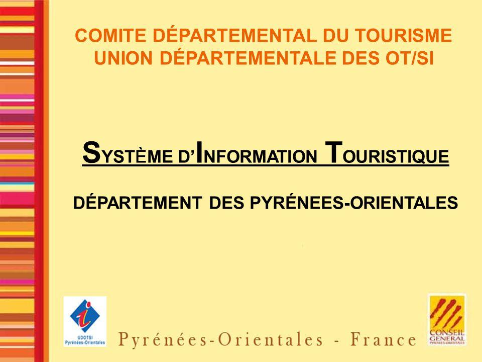 SYSTÈME D'INFORMATION TOURISTIQUE