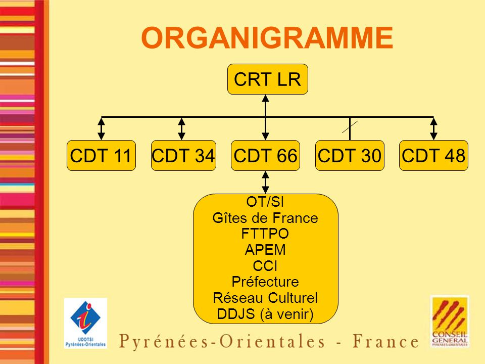 ORGANIGRAMME CRT LR CDT 11 CDT 34 CDT 66 CDT 30 CDT 48 OT/SI