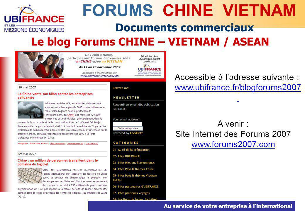 Le blog Forums CHINE – VIETNAM / ASEAN
