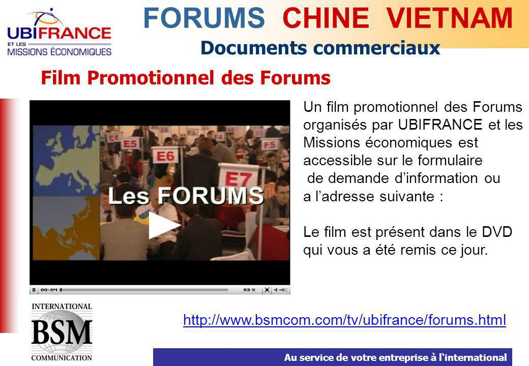 Film Promotionnel des Forums