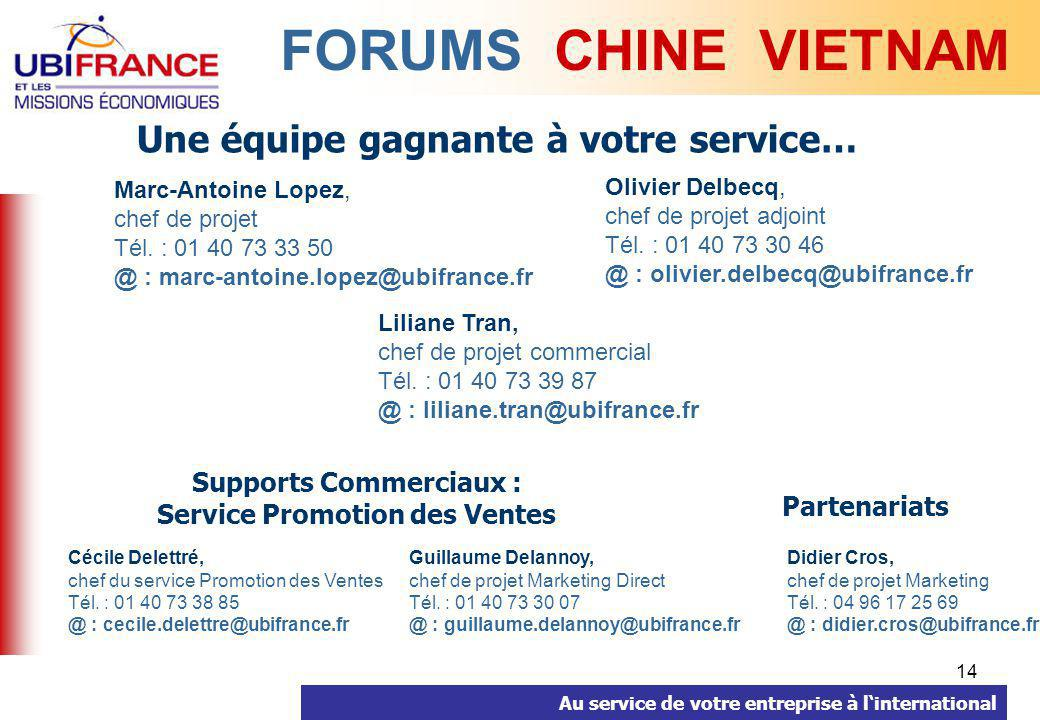 Supports Commerciaux : Service Promotion des Ventes