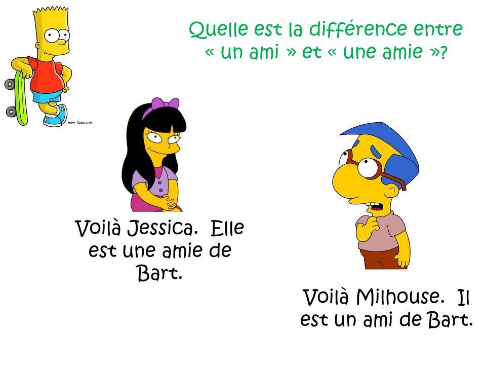 Quelle est la différence entre « un ami » et « une amie »