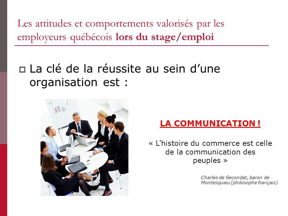 « L histoire du commerce est celle de la communication des peuples »