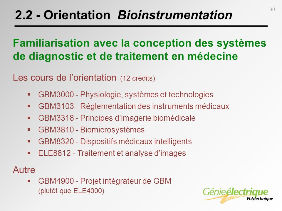 2.2 - Orientation Bioinstrumentation