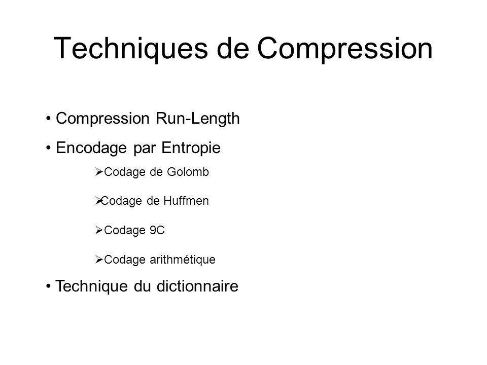 Techniques de Compression