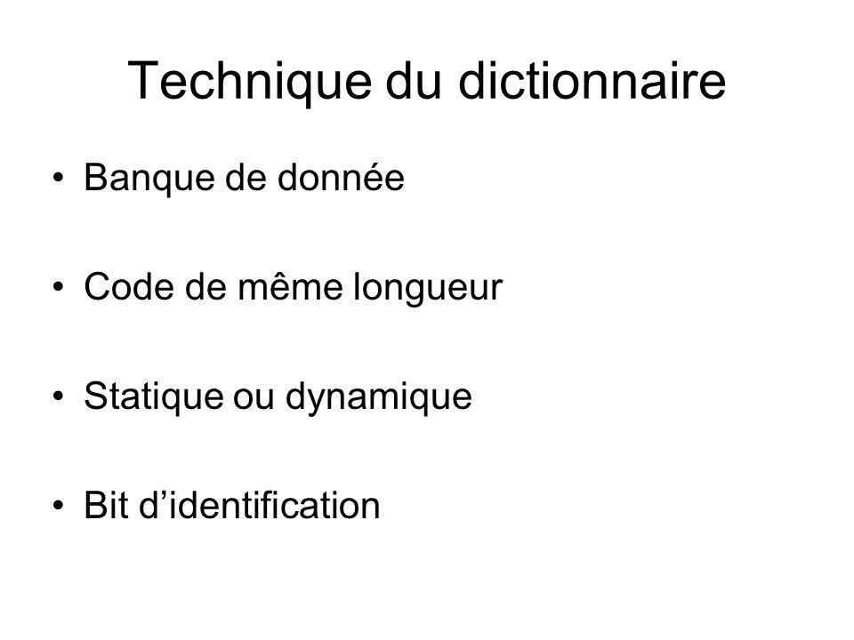 Technique du dictionnaire