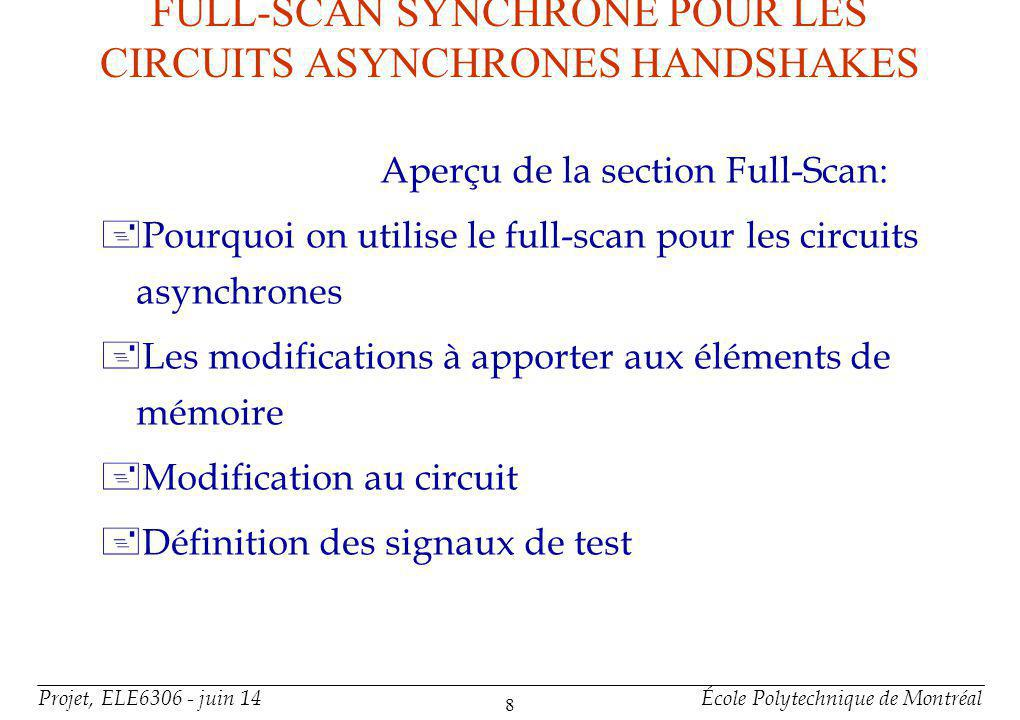 Aperçu de la section Full-Scan (suite)