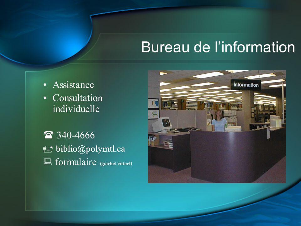 Bureau de l'information