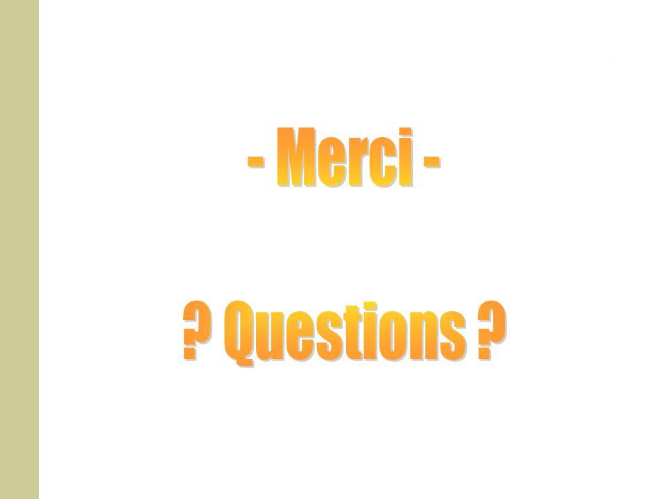- Merci - Questions
