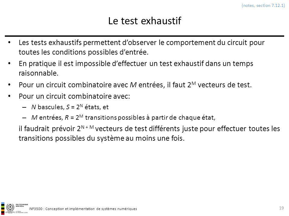 (notes, section 7.12.1) Le test exhaustif.