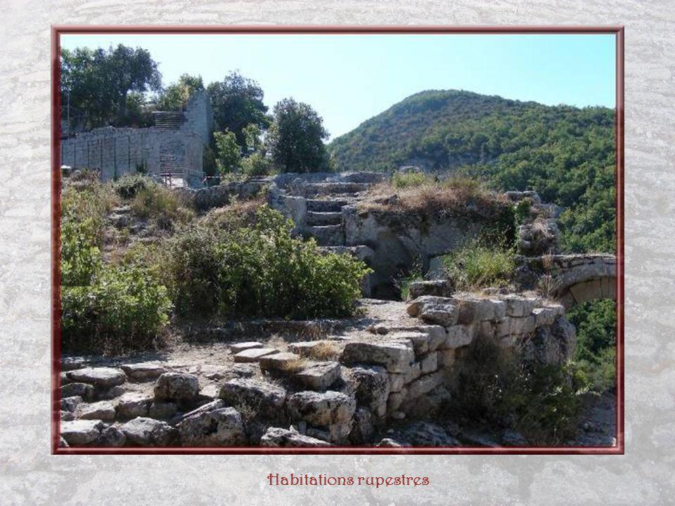Habitations rupestres