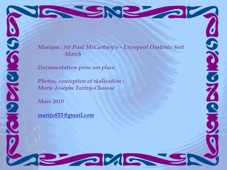 Musique : Sir Paul McCartney's – Liverpool Oratorio Suit