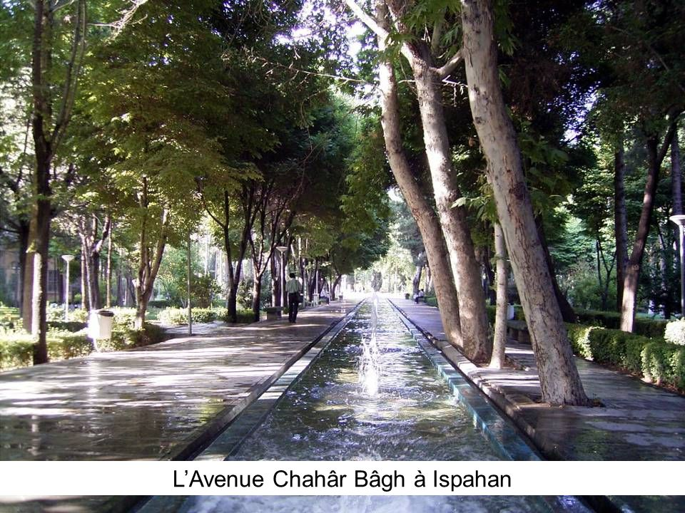L'Avenue Chahâr Bâgh à Ispahan