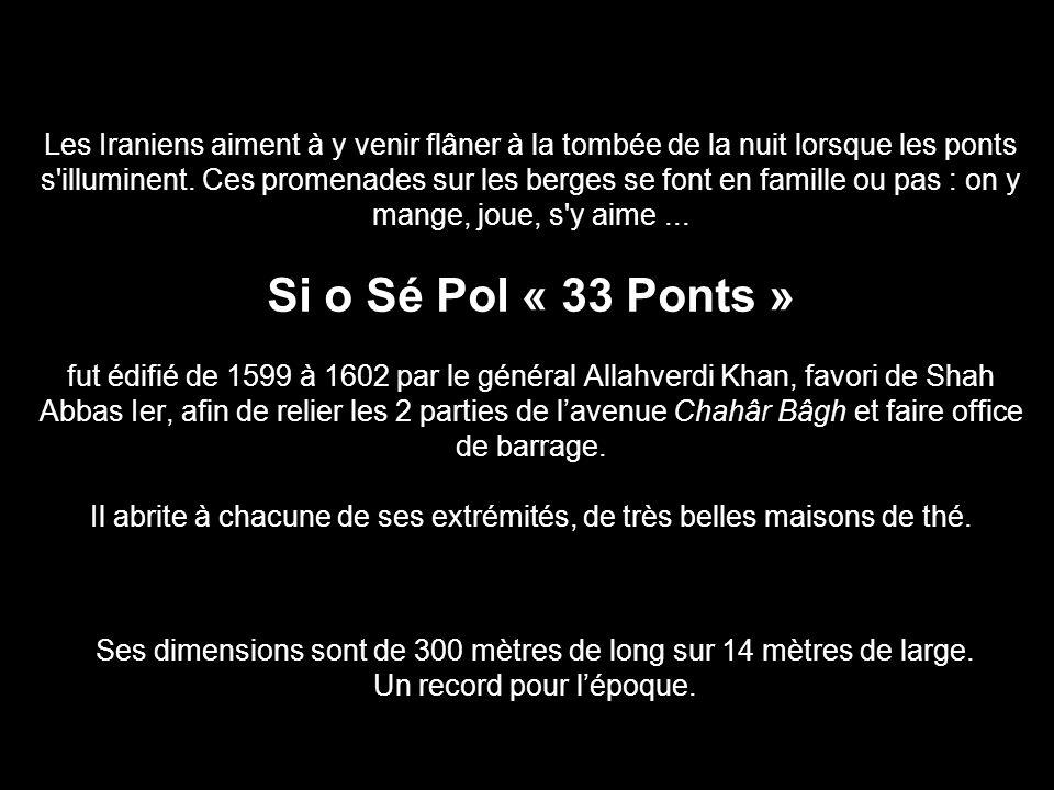 Ses dimensions sont de 300 mètres de long sur 14 mètres de large.