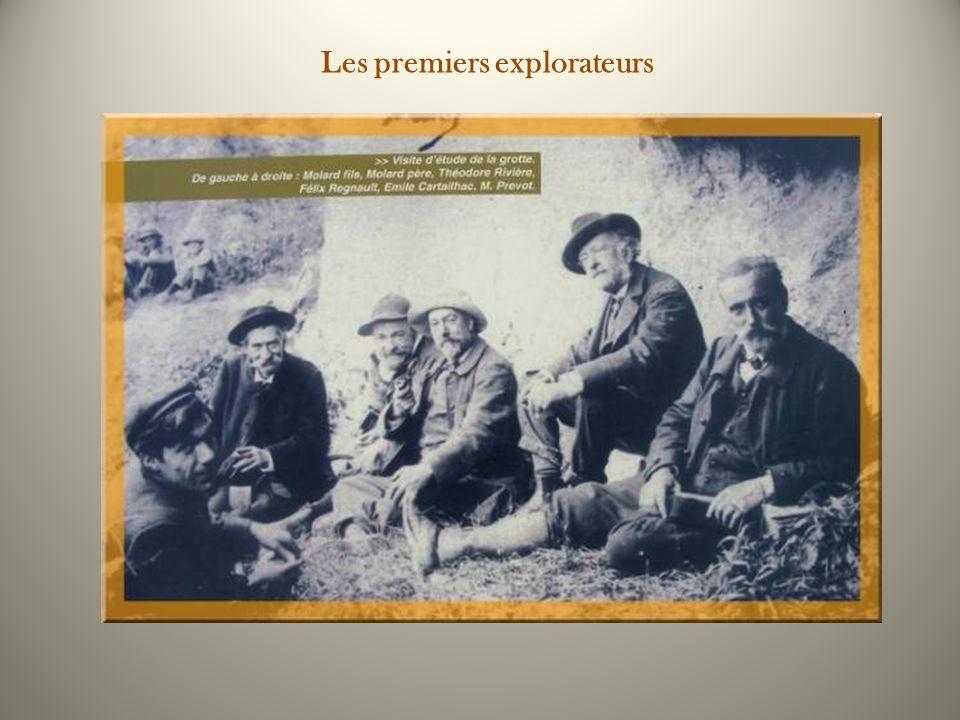 Les premiers explorateurs