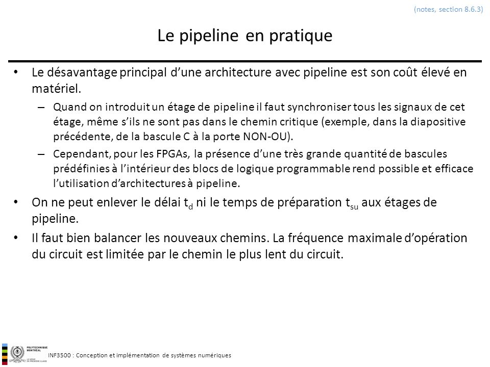 Le pipeline en pratique
