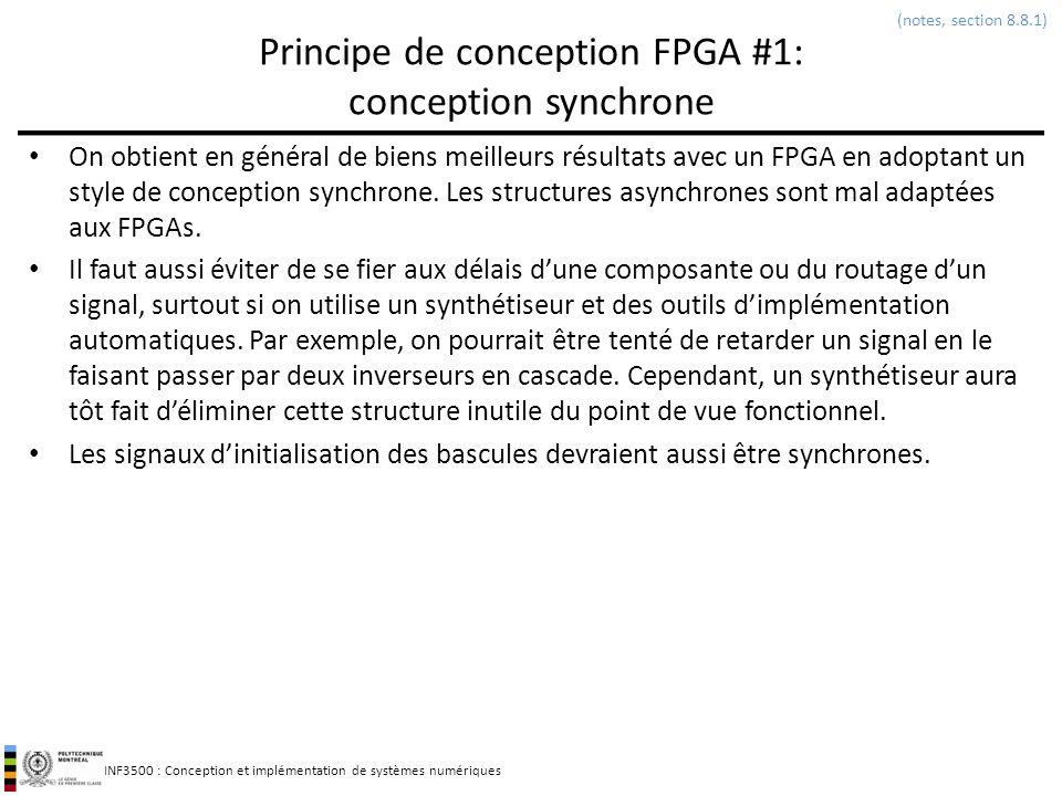 Principe de conception FPGA #1: conception synchrone
