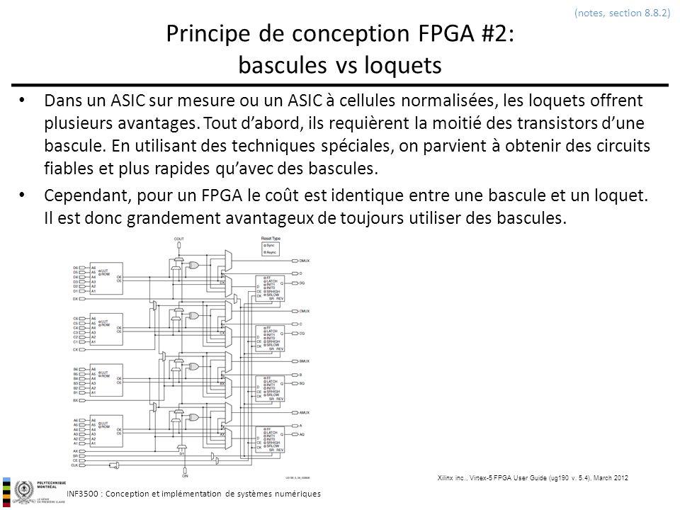 Principe de conception FPGA #2: bascules vs loquets