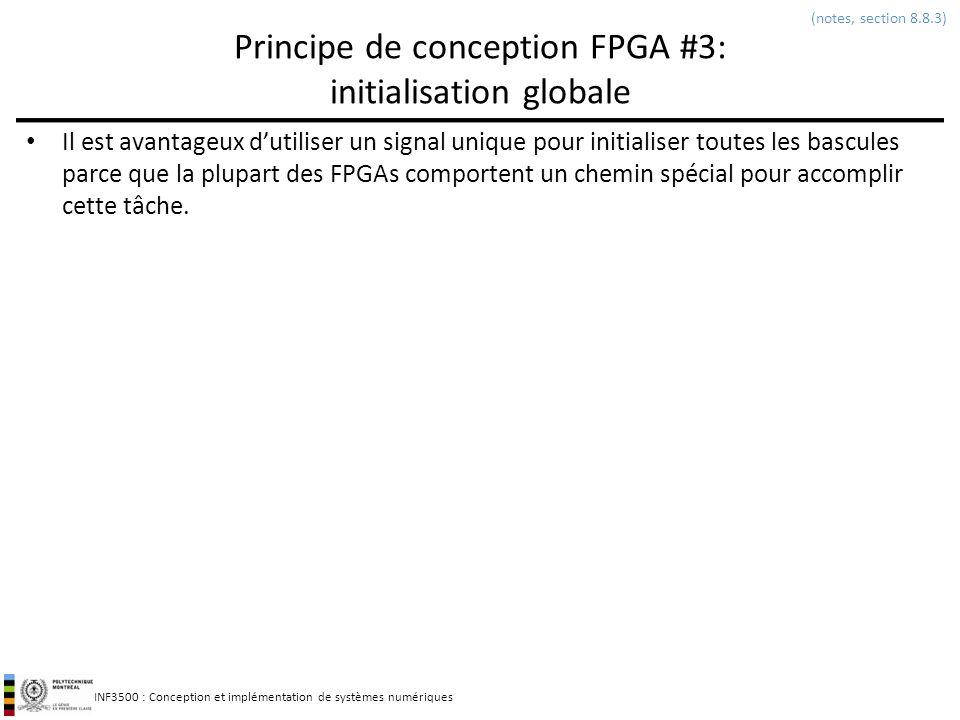 Principe de conception FPGA #3: initialisation globale