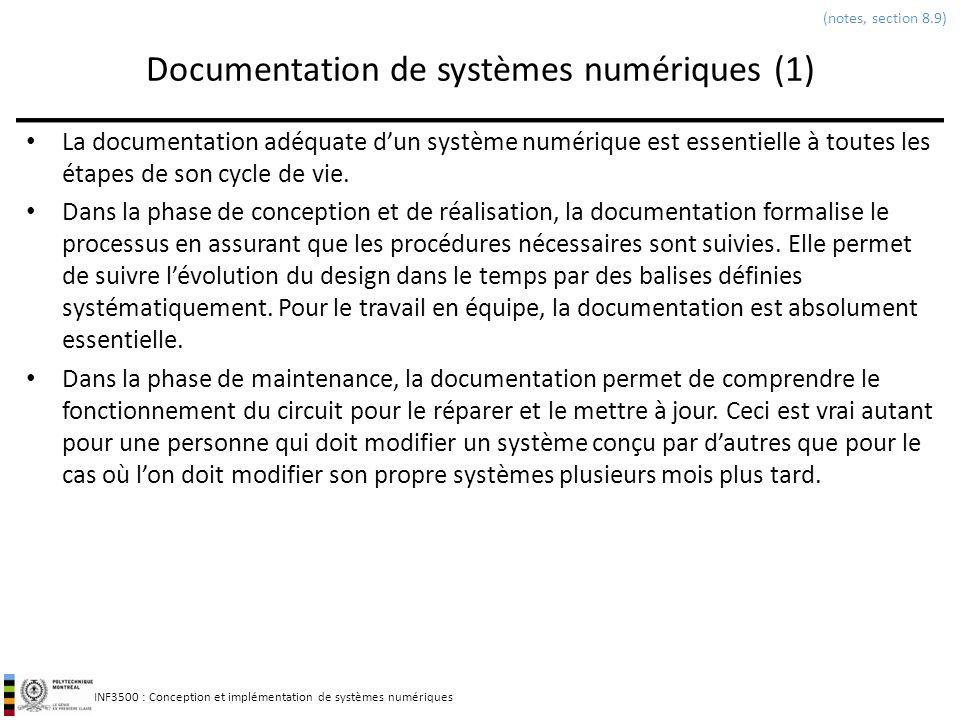 Documentation de systèmes numériques (1)