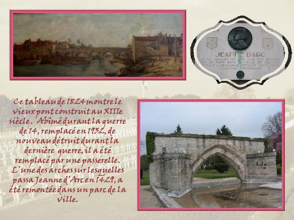 Ce tableau de 1824 montre le vieux pont construit au XIIIe siècle