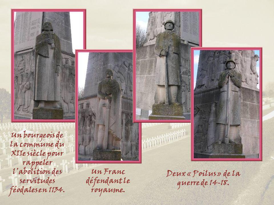 Un Franc défendant le royaume. Deux « Poilus » de la guerre de 14-18.