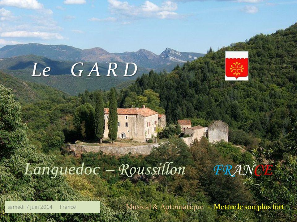 Le G A R D Languedoc – Roussillon FRANCE