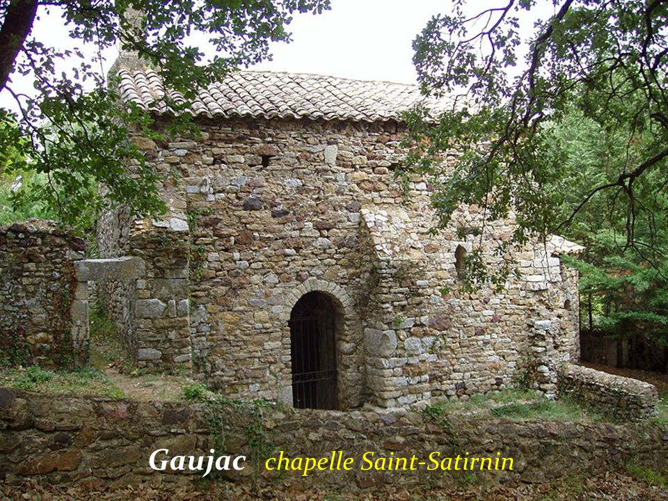 Gaujac chapelle Saint-Satirnin